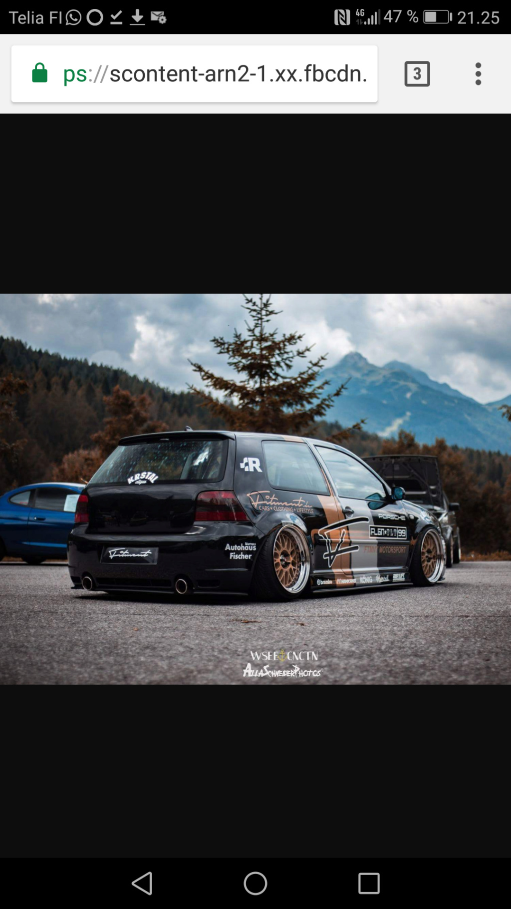 golffari: Bagged Golf mkiv gti -99, Nardo Grey Screen11