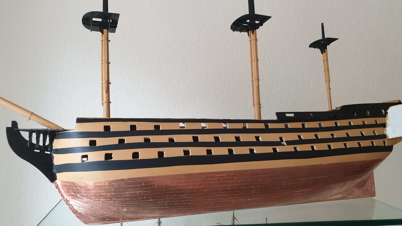 Baubericht HMS Victory 1:98 von Mantua von WolfgangEW 20190710