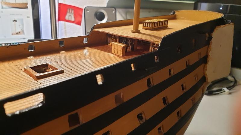 Baubericht HMS Victory 1:98 von Mantua von WolfgangEW 20190711