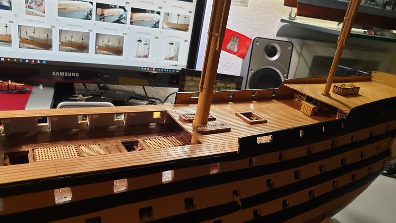 Baubericht HMS Victory 1:98 von Mantua von WolfgangEW 20190712
