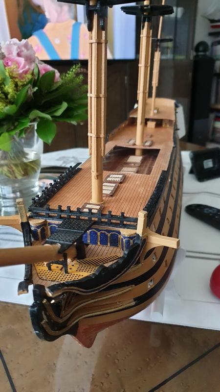 Baubericht HMS Victory 1:98 von Mantua von WolfgangEW 20190718