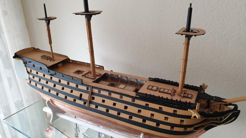 Baubericht HMS Victory 1:98 von Mantua von WolfgangEW 20190721