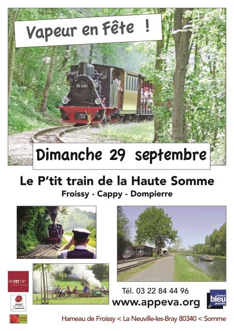 Petit Train de la Haute Somme Affich10