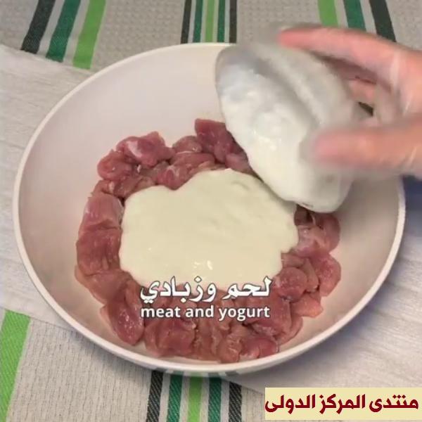 طريقة عمل الارز االابيض مع ايدام لحم بالطريقة الهندية بالصور خطوه بخطوه  10127212