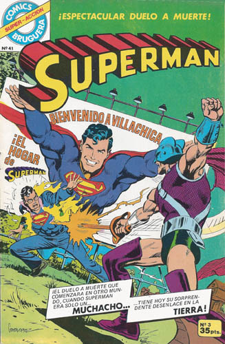 [Valenciana, Vértice, Bruguera] DC Comics 0331