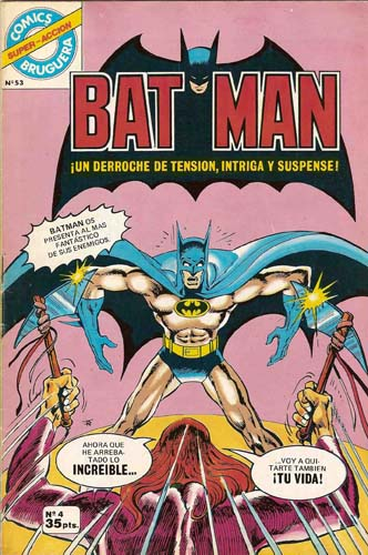 [Valenciana, Vértice, Bruguera] DC Comics 0436