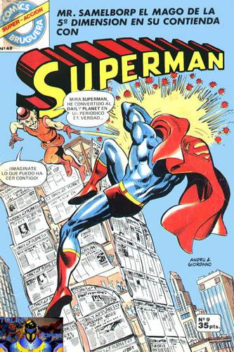 [Valenciana, Vértice, Bruguera] DC Comics 0921