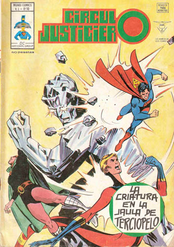 [Valenciana, Vértice, Bruguera] DC Comics 1021
