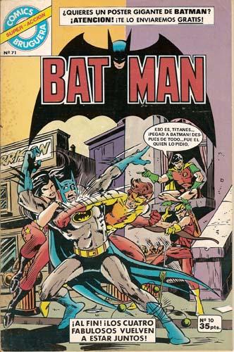 [Valenciana, Vértice, Bruguera] DC Comics 1025