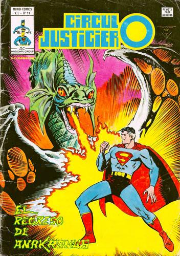 [Valenciana, Vértice, Bruguera] DC Comics 1116