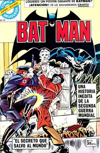 [Valenciana, Vértice, Bruguera] DC Comics 1119