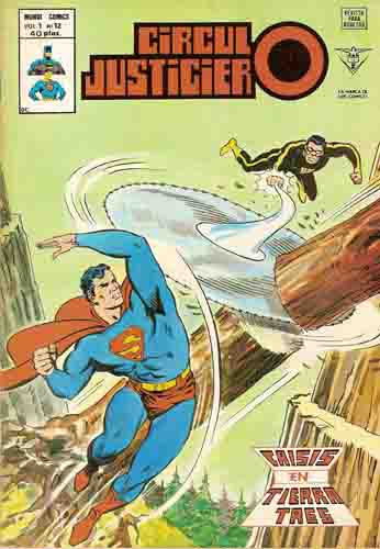 [Valenciana, Vértice, Bruguera] DC Comics 1218