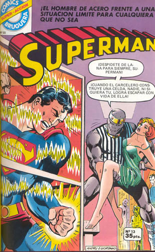 [Valenciana, Vértice, Bruguera] DC Comics 1318