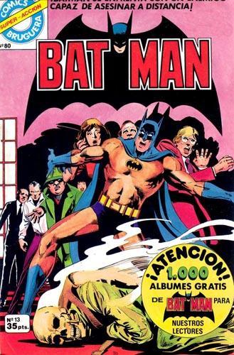 [Valenciana, Vértice, Bruguera] DC Comics 1319