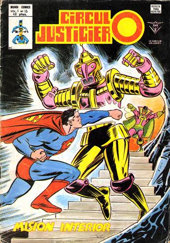 [Valenciana, Vértice, Bruguera] DC Comics 1518