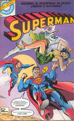 [Valenciana, Vértice, Bruguera] DC Comics 1519