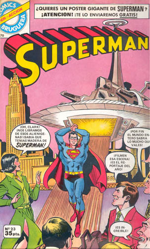 [Valenciana, Vértice, Bruguera] DC Comics 2312