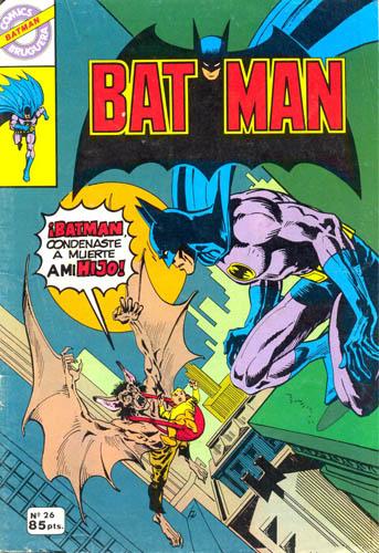 [Valenciana, Vértice, Bruguera] DC Comics 2612