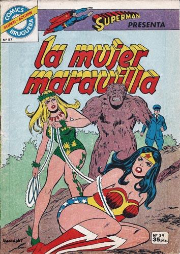 [Valenciana, Vértice, Bruguera] DC Comics 3410