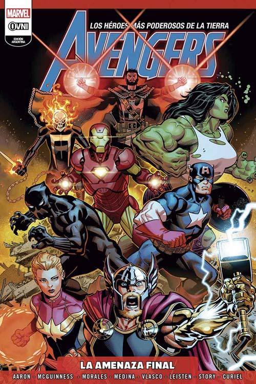 1 - [Marvel - Ovni-Press] Consultas y novedades - Referente: Skyman v3 - Página 6 Avenge11