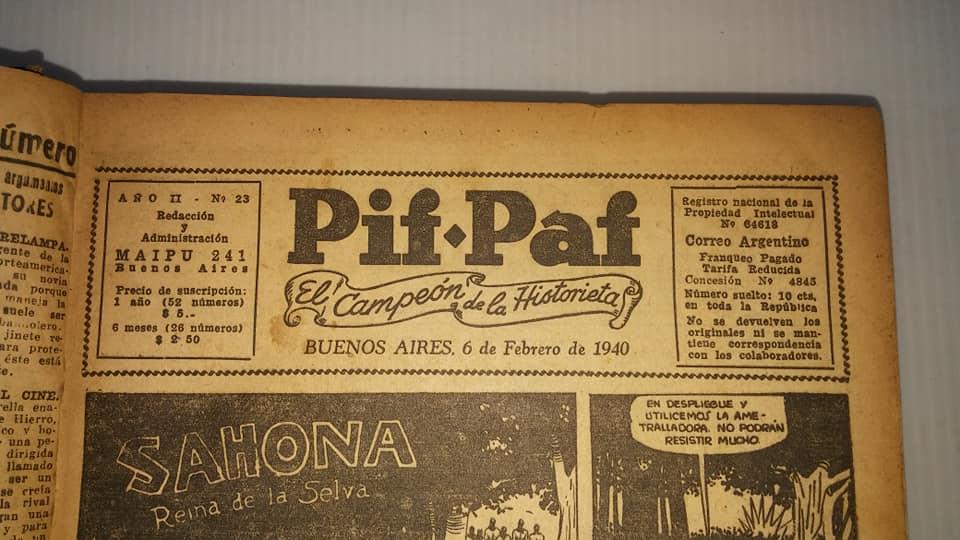 [Debate] Los Orígenes Comiqueros Marvel, DC  y otros en Argentina  - Página 2 Pif_pa11
