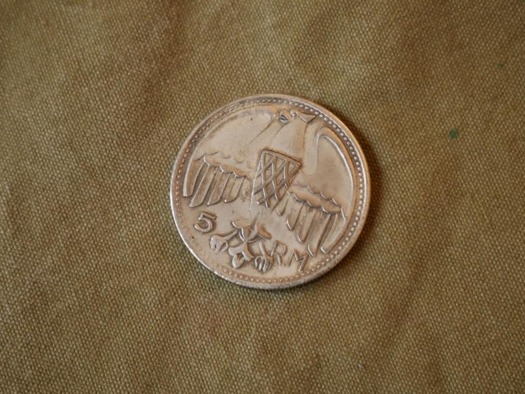 Une medaille Vichy et une médaille en argent Hitler P1040311