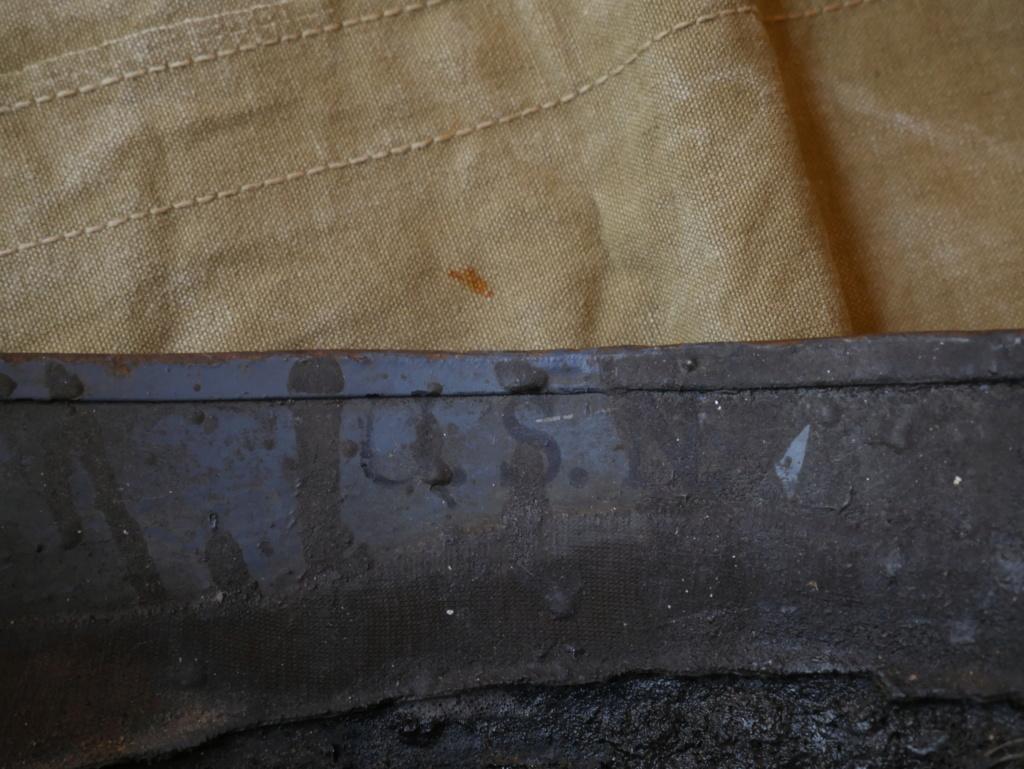 Casque Artilleur U.S.Navy 1943 P1040829