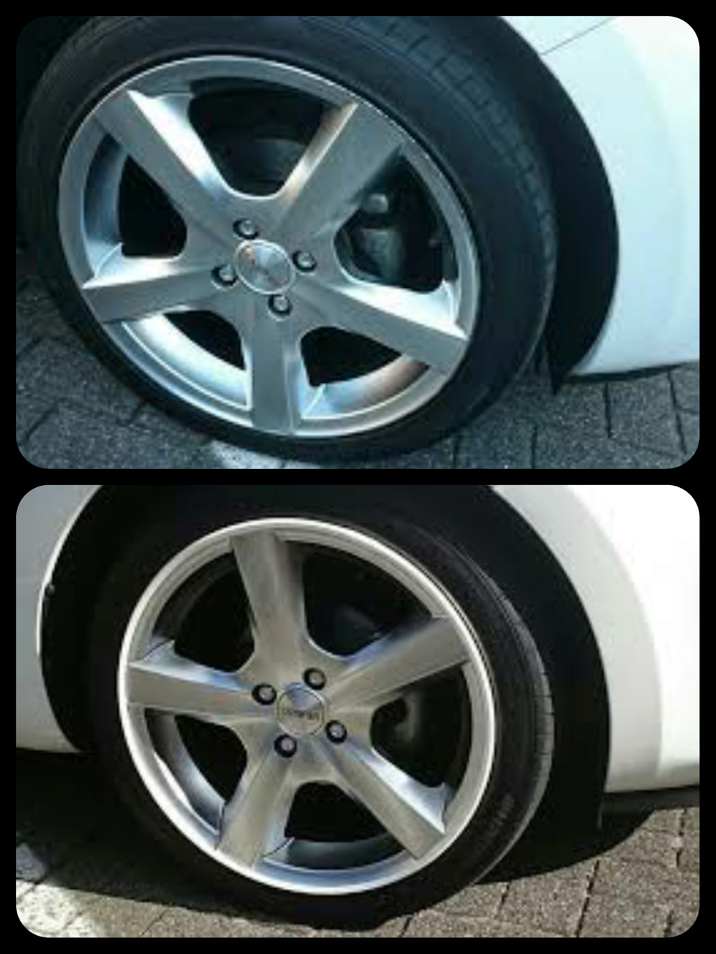 Scraped my new alloy wheel  Collag13
