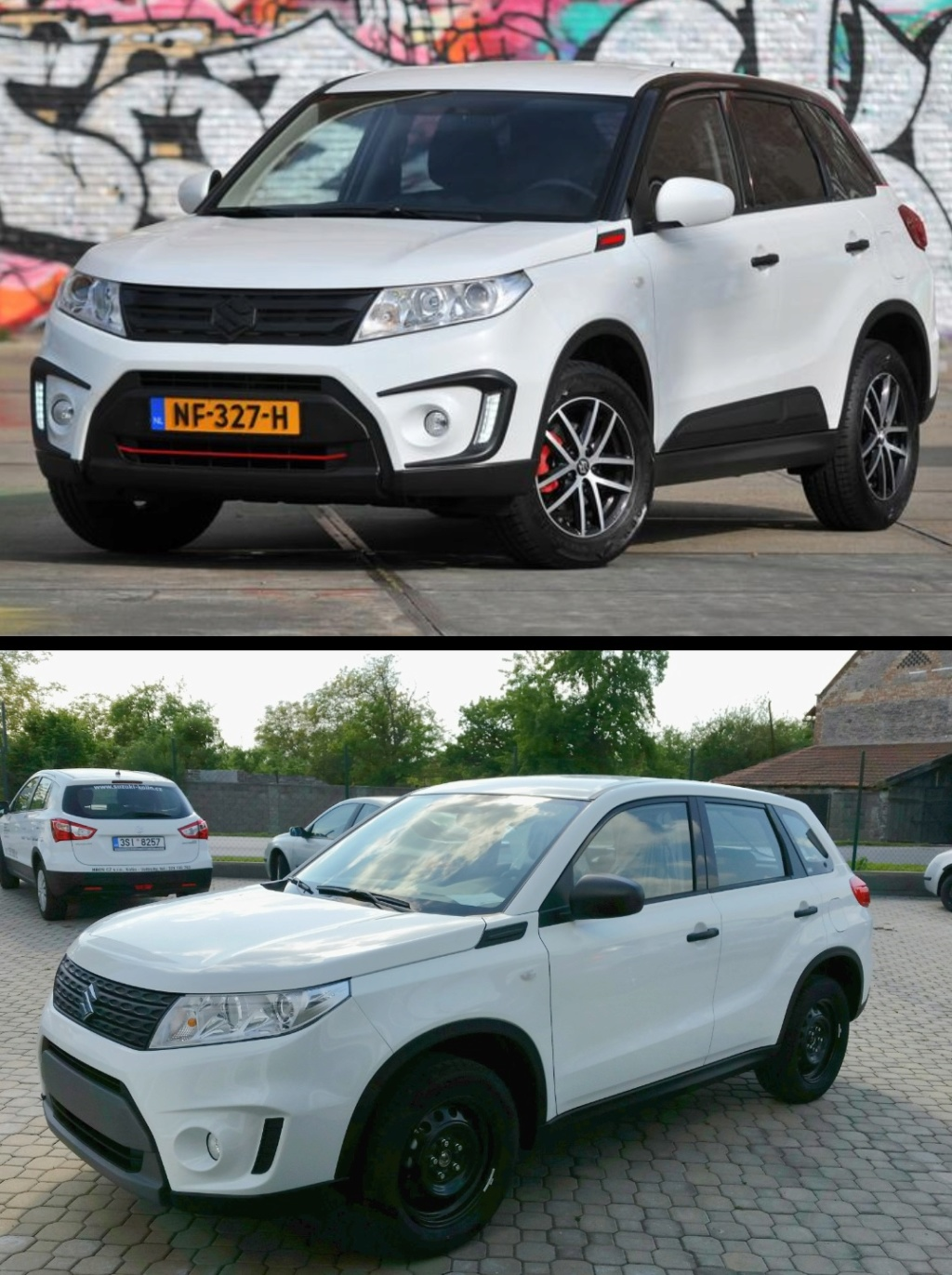 My 2017 Black & White edition from Holland - Page 2 Vitara13