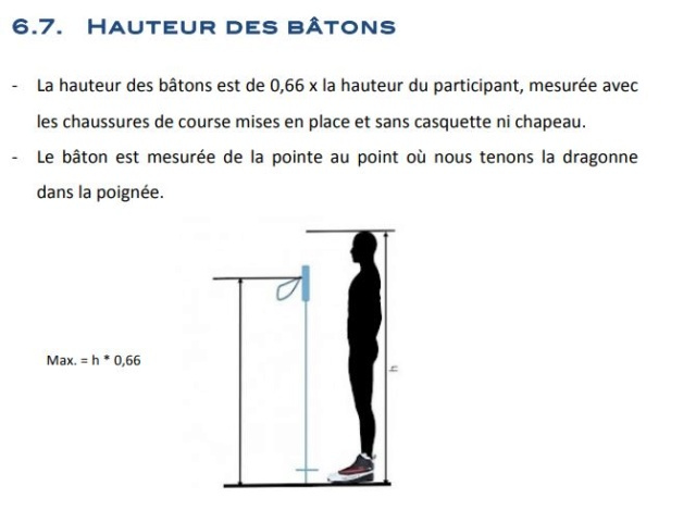 bâtons - Hauteur des bâtons - Nordic Walking Word Cup Tour Hauteu10