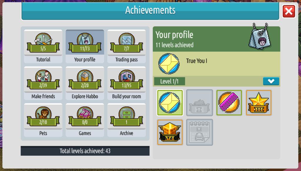 Habbo 2020 : Les niveaux d'avatars ! Nivo310