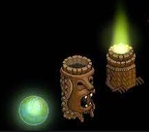 cherche effet feu et goutte de pluie Totem10