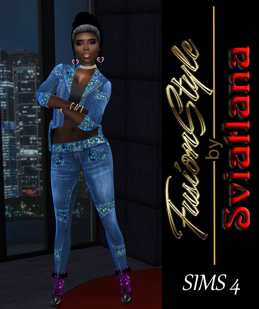 Jaket , Jeans , shoes sims 4 - FusionStyle by Sviatlana Oaia-210