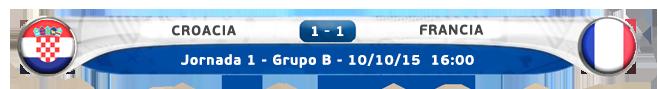 Croacia vs Francia J1_cro10