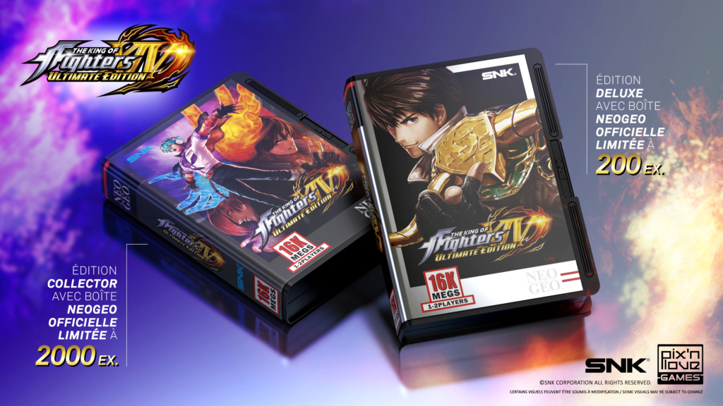 kof 14 ultimate édition ps4 sortie 2021 trillers  Erh4bw10