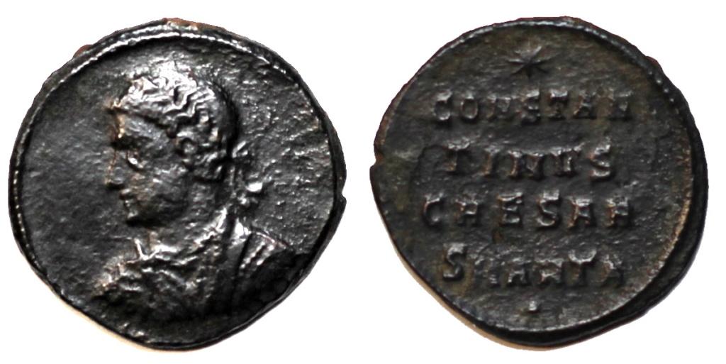 une anépigraphe de Constantin II  Consta10