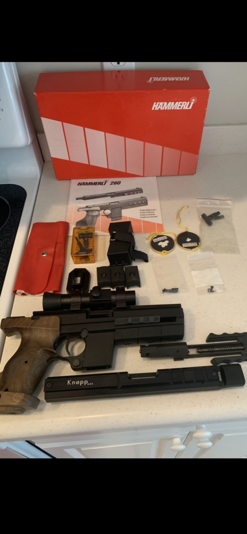 Hammerli 280 22lr with 32 conversion  A2bc8f10