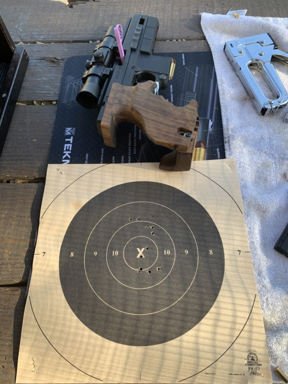 A little Range time with my Hammerli  E96cf810