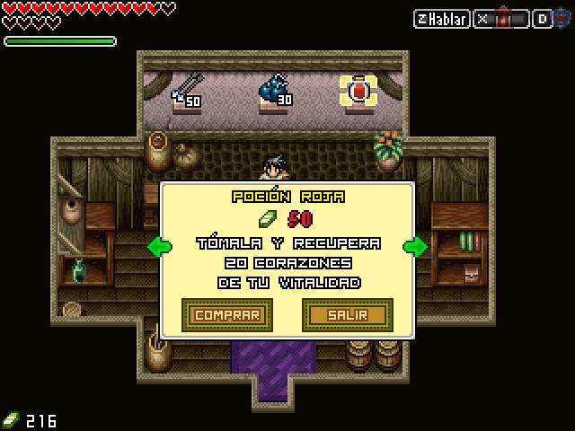 The Legend of Zelda: Trident of Power (RM2k3) [Juego Completo] Tienda10
