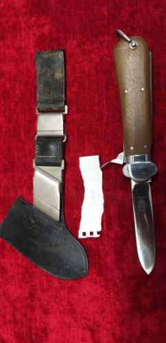 Couteau gravité para allemand ww2 D32_al10