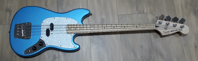 Projeto Squier Mustang Bass - Vintage Modified 20180710