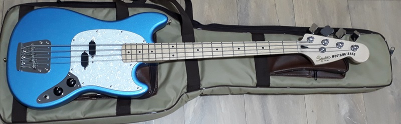 Projeto Squier Mustang Bass - Vintage Modified 20180810