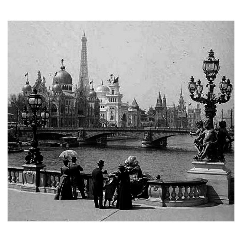 Exposition Universelle. Tour Eiffel 1889. Sans1096