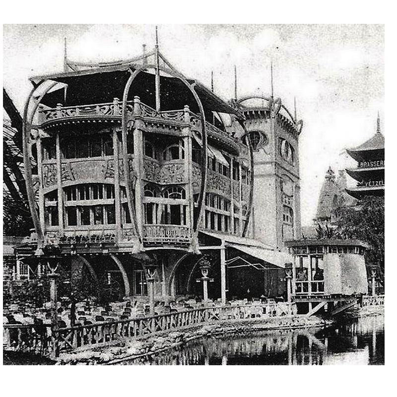 Exposition Universelle. Tour Eiffel 1889. Sans1101