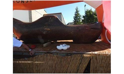 Le plus grand sabot du monde Sans1241