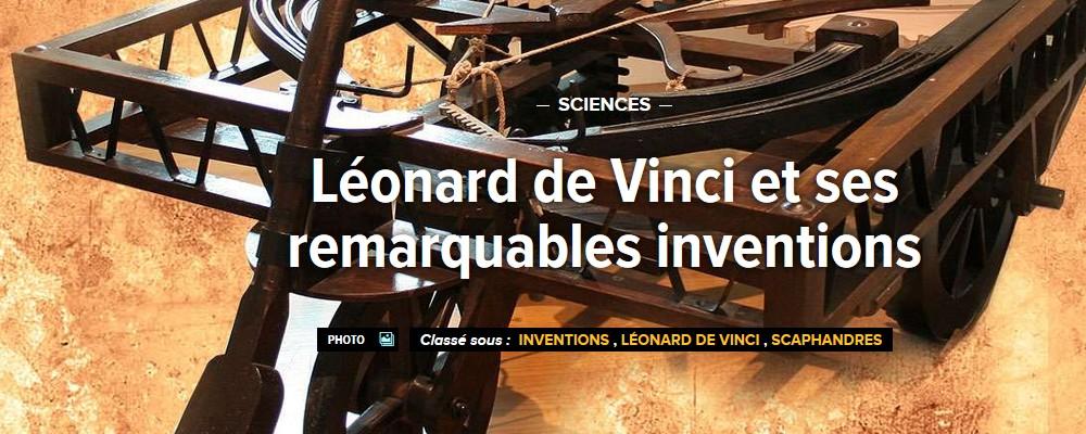 Léonard de Vinci et ses remarquables inventions Sans2267