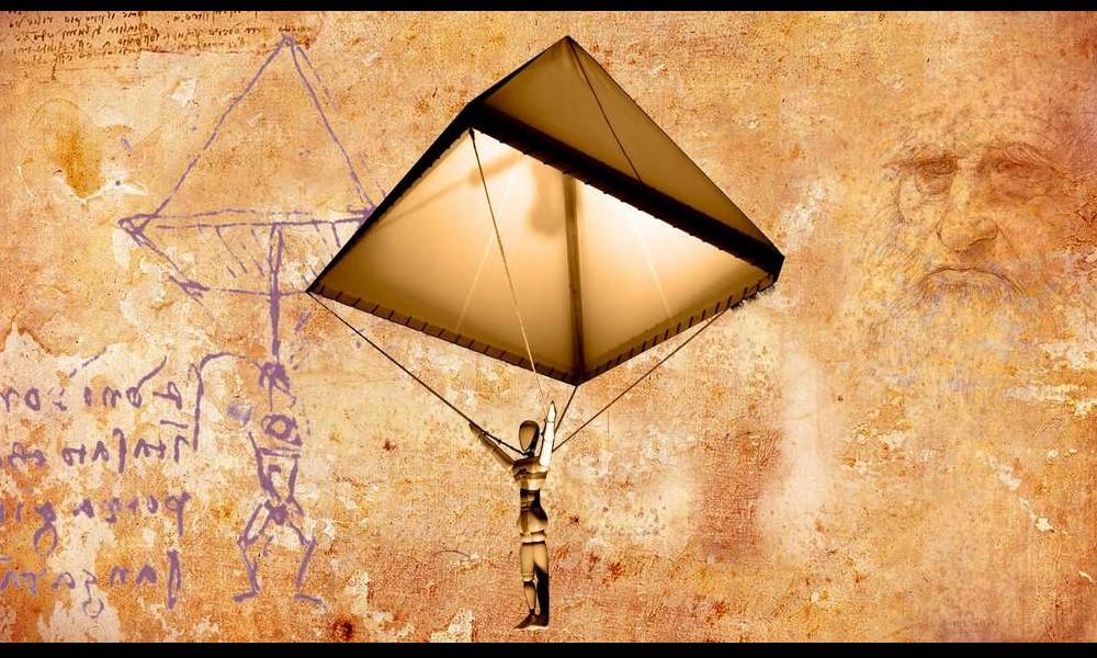 Léonard de Vinci et ses remarquables inventions Sans2269