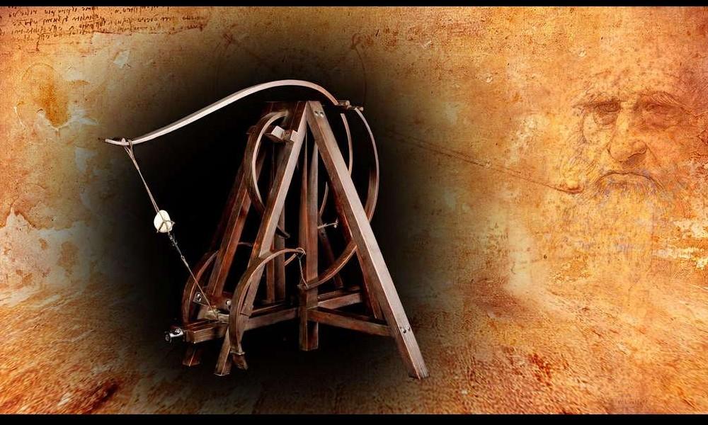 Léonard de Vinci et ses remarquables inventions Sans2270