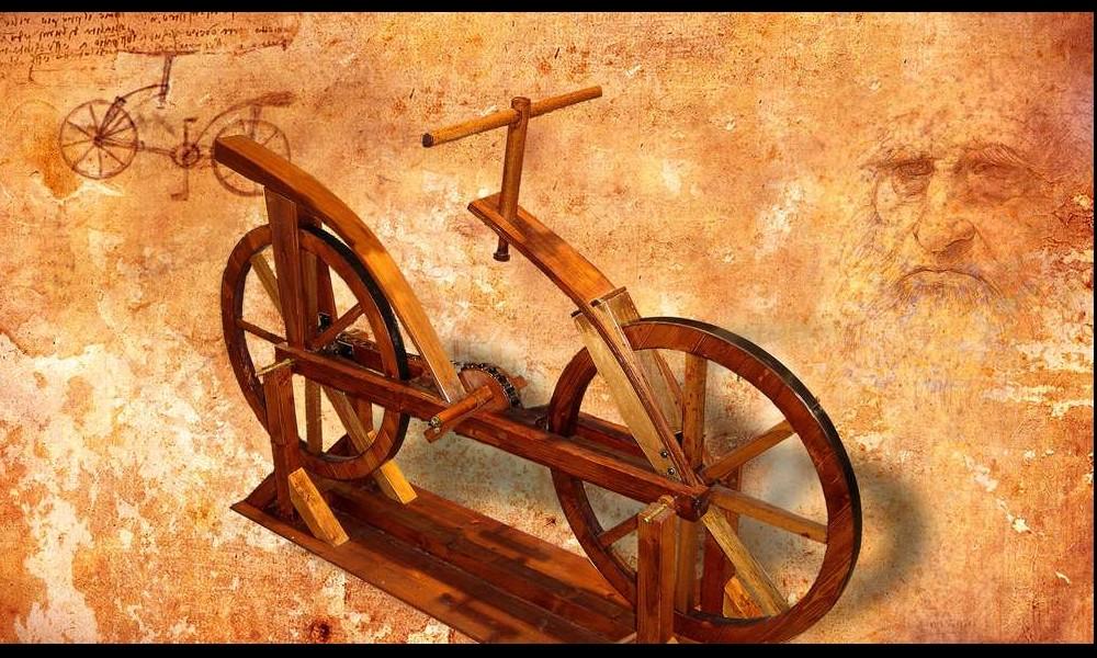 Léonard de Vinci et ses remarquables inventions Sans2271