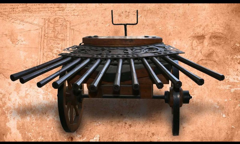 Léonard de Vinci et ses remarquables inventions Sans2274